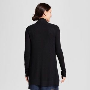 a new day Sweaters - A New Day Black Open Cardigan